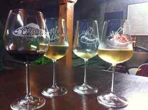 Detalles copas de vino