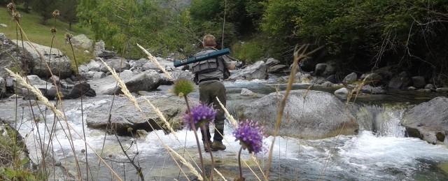 De pesca en el Valle de Benasque; saludando a los duendes del ríoEstós