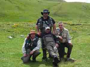 Pirineos 2013 los cuatro