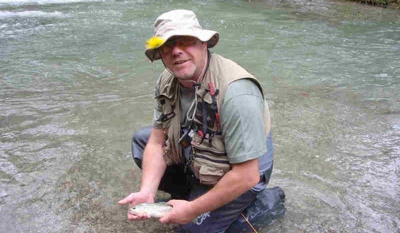 Río Bastareny; coto de pesca sin muerte deBagà