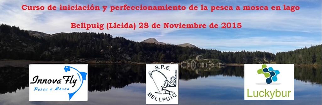 Jornada de iniciación y perfeccionamiento de pesca en lago; Bellpuig (Lleida)28 de Noviembre de2015