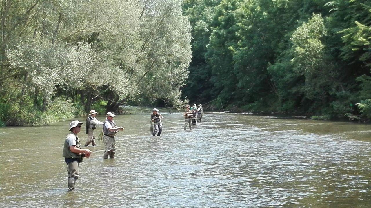 Curso técnicas de lanzado pesca a mosca – Lleida – 13 de Mayo de2017