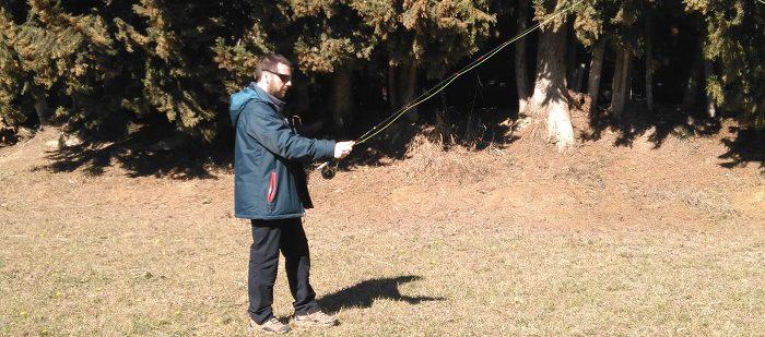 Curso avanzado de lance con caña de mosca; JaumeFeixa